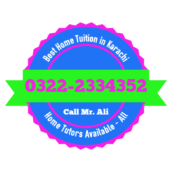 Best Home Tuition in Karachi