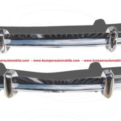 VW Karmann Ghia Euro style bumpers in stainless steel