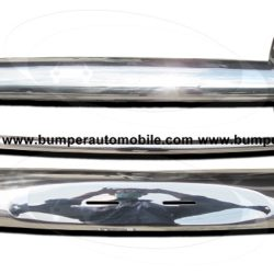 Volvo Amazon USA style bumper (1956-1970) in stainless steel