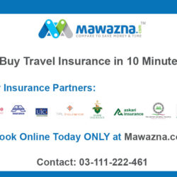 travel insurance banner for promotions