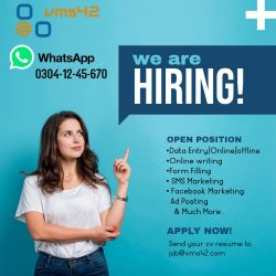 Copy of We are Hiring Job Instagram Post - Made with PosterMyWall (1)