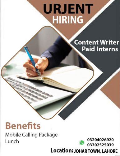 Content writer paid internees 2-01